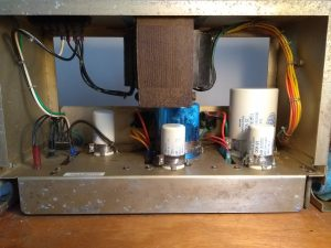 Top down photo of PSU 3 after refurbishment.